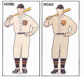 Uniforme del 1927 dei Detroit Tigers f99928c76b84